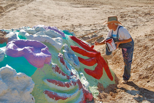 Salvation Mountain. Photo by Brian
