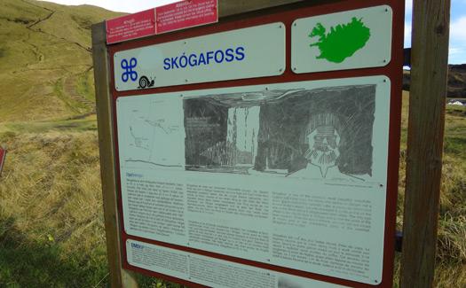 9 skogafoss-sign