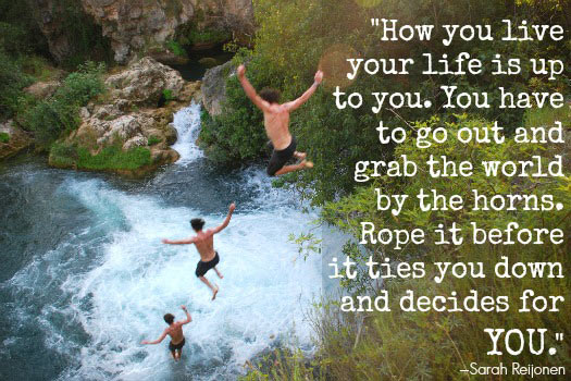 Travel Quotes for the Adventurous Traveller. Photo by Kevin Botto