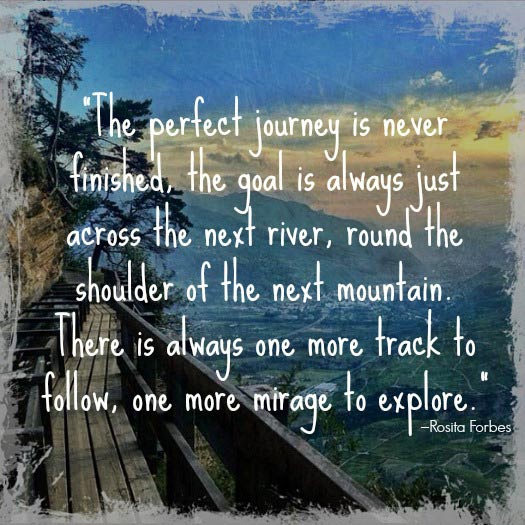 Travel Quotes for the Adventurous Traveller. Photo by Urs Steiner