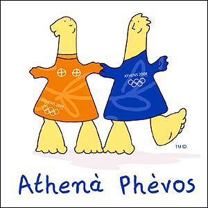 Athena and Phevos, Athens 2000