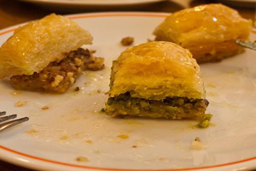 Baklava - Ten weird and wonderful foods