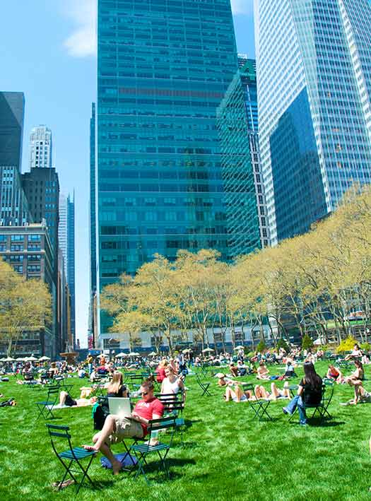 Bryant Park was the top ranked of New York's 10 entries (Image: Ed Yourdon)