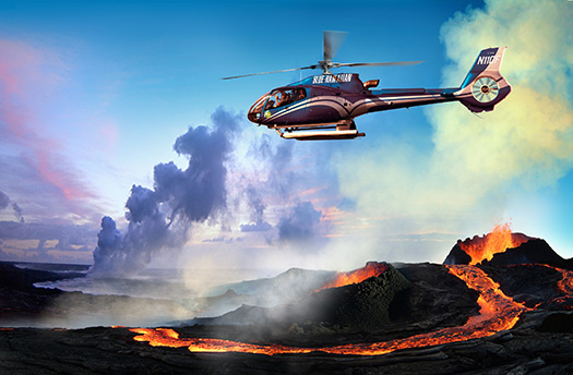 Helicopter (Image: © Blue Hawaiian Helicopter Tours)