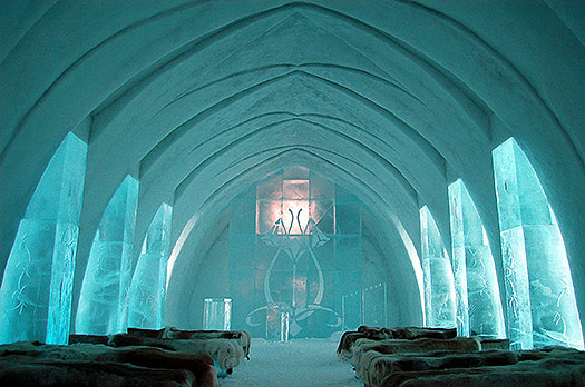 Ice Hotel - 5 seriously cool winter wonderlands
