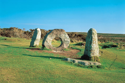 The Mên-an-Tol, Cornwall. Photo by Visit Cornwall