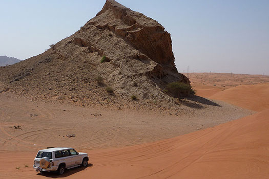 Offroading in Dubai - Father's Day gift ideas