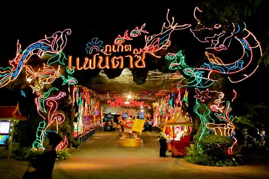 Phuket FantaSea cultural theme park, Thailand