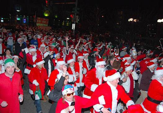 Running of the Santas - Philadelphia