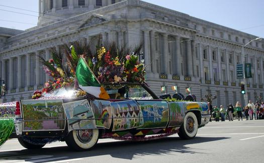 St. Patrick's Day Parade in San Francisco, Calif. (Image: eblake)