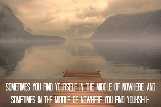 Inspirational Travel Quote. Photo by Kevin Botto