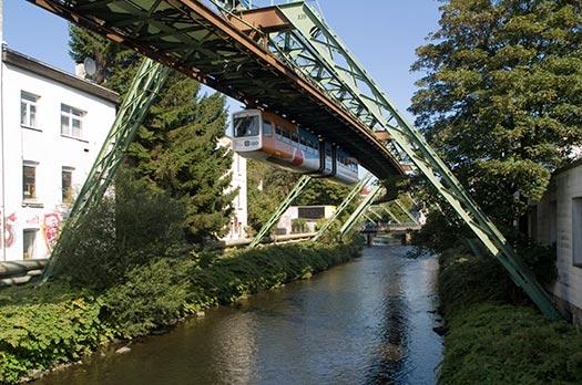 Suspension railway (Image: Wikipedia)