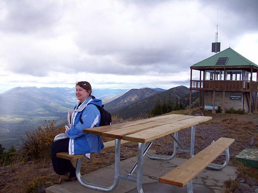 Werner Peak Lookout (Image: Nicole Stickney)