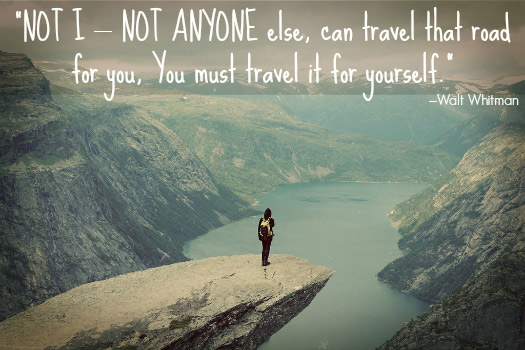 Travel Quotes for the Adventurous Traveller. Photo by Thomas Frost Jensen