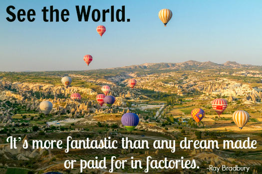 Travel Quotes for the Adventurous Traveller. Photo by Benh LIEU SONG