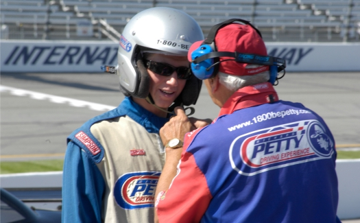 Dave Center, Richard Petty Driving Experience via Flickr CC BY 2.0