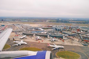 Hugh Llewyn, Heathrow Airport from the air