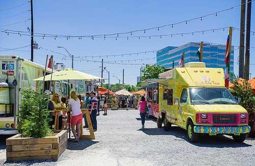 Atlanta Food Truck Park (Image: Fifth World Art)
