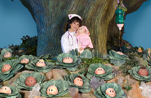 Image result for cabbage patch dolls being born photos