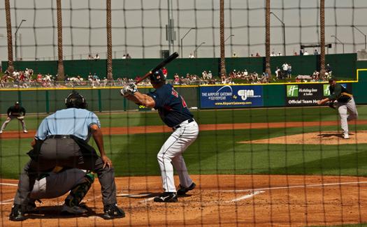 Baseball in Arizona (Image: bryce_edwards)