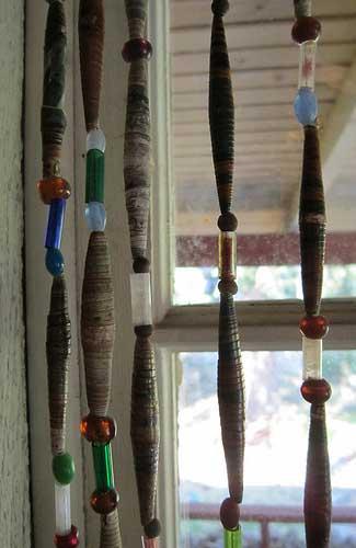 Window beads (Image: Danielle Walquist Lynch)