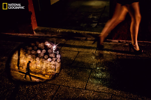 End of the night. Oaxaca, Mexico. Photo and caption by Daniel Kudish, National Geographic 2014 Photo Contest