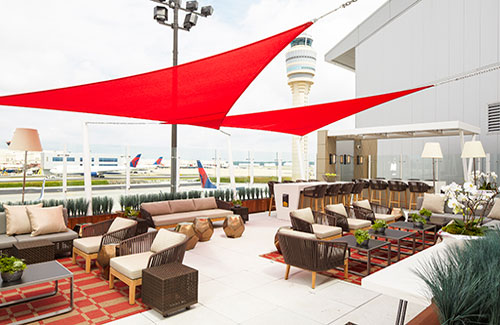 Behind closed doors: An inside look at America's best airport lounges