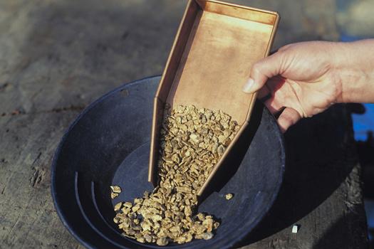 Gold Panning © Ingram Publishing/Thinkstock [http://www.thinkstockphotos.co.uk/image/stock-photo-2-27096e-007/87354645/]