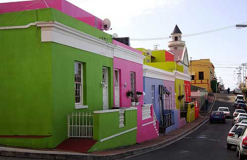 Bo-Kaap, formerly known as the Malay Quarter (Image: warrenski used under a Creative Commons Attribution-ShareAlike license)
