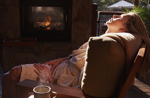 Calistoga Ranch Spa offers a high-end hot springs experience(Image: Calistoga Visitors Center)