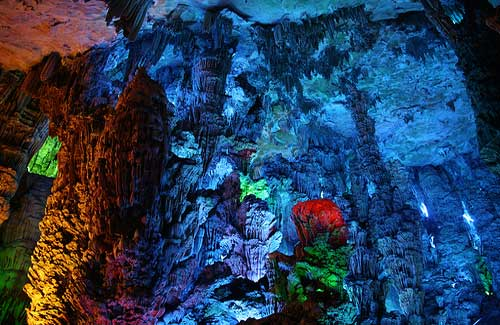Reed Flute Cave, China (Image: Bernt Rostad)