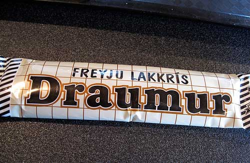 Chocolate-covered licorice in Iceland (Image: cogdogblog used under a Creative Commons Attribution-ShareAlike license)