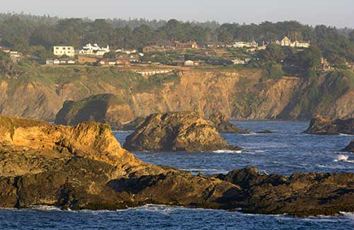 Russian Gulch State Park near Mendocino (Image: California Travel and Tourism Commission/ Christian Heeb)