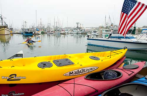 North Coast kayak tour (Image: California Travel and Tourism Commission/ Andreas Hub)