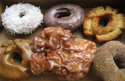 Doughnuts from Top Pot in Seattle (Image: SheriW)
