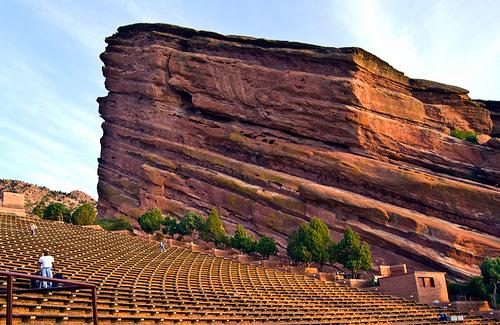 Red Rocks Amphitheater (Image: Tiz_herself AKA cruisingat60)