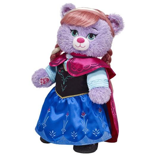 Anna... Photo: Build-A-Bear