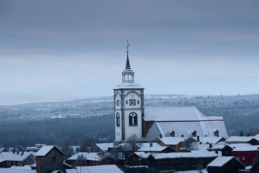 Røros in Norway. One of the places Disney film makers visited before making Frozen. Photo: Femundløpet Presse