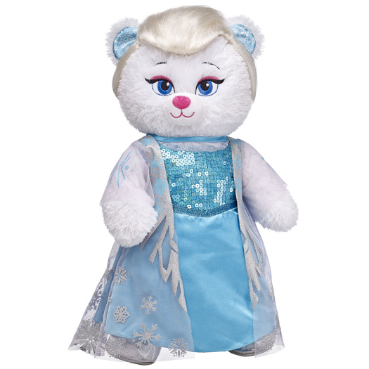 And Elsa... Photo: Build-A-Bear