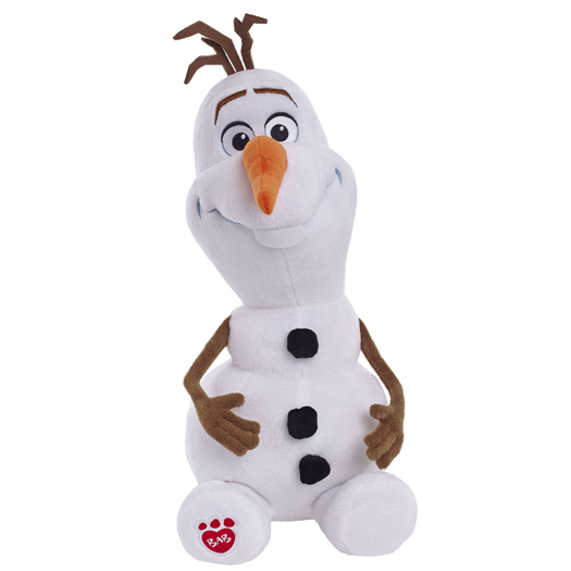 Olaf... Photo: Build-A-Bear