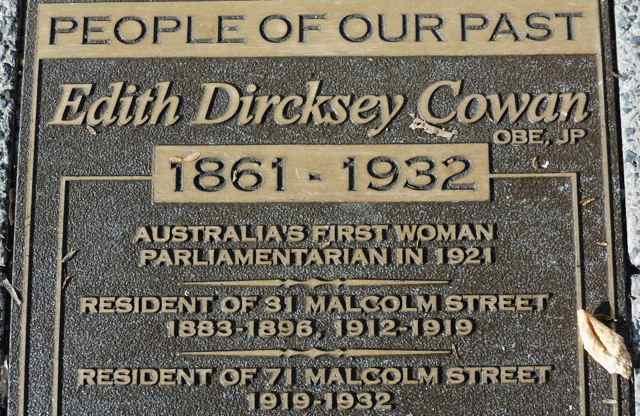 Edith Dircksey Cowan, Perth, Australia (Image: mikecogh)