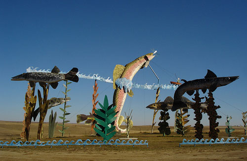 Quirky travel finds: North Dakota's Enchanted Highway