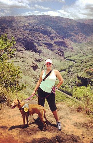 Enjoy Kauai with a four-legged companion