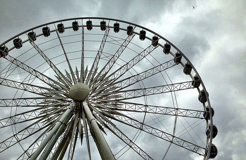 Sky Wheel, Niagara Falls (Image: tomhenrich)