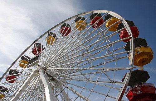 Pacific Wheel, Santa Monica, California (Image: Rob Poetsch)