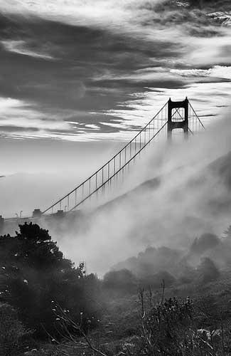 The Golden Gate Bridge in San Francisco (Image: mdalmuld)