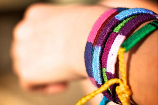 """""""Friendship"""" bracelets. Photo by PV KS"""