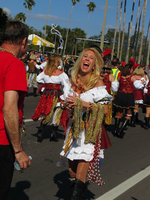 Gasparilla Parade in Tampa, Fla. (Image: kthypryn)