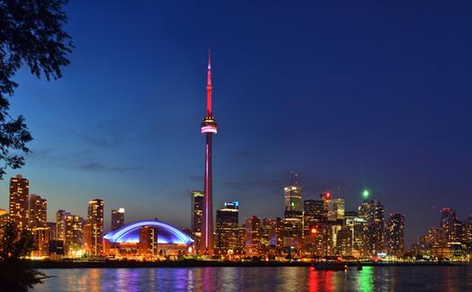 The Toronto skyline (Image: bielousov)