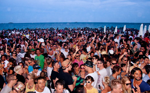 One of Ibiza's famous October closing parties (Image: Frederico Capoano)